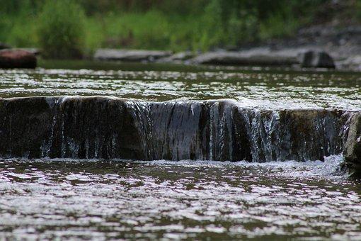 Water, Rocks, Stream, River, Stone, Outdoor, Scenic