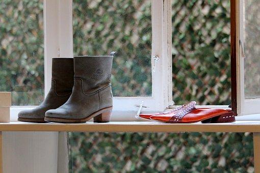 Window, Shoe Store, Shoes, Presentation, Business