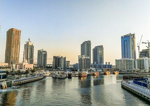 Uae, Marina, Dubai, Emirates, Architecture, Skyscraper
