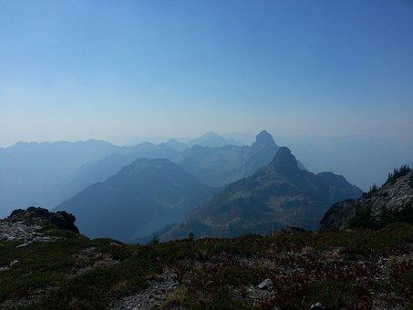 Pct, Pacific Crest Trail, Hiking, Summer, Cascades
