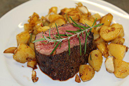 Steak, Fillet Steak, Benefit From, Fresh, Butcher, Meat