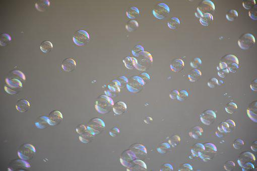 Soap Bubble, Floating, Blow, Pass, Wind, Kid, Child
