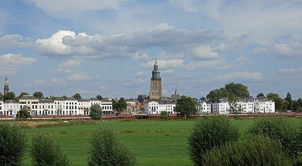 Hanseatic City, Zutphen, City, St Walburg