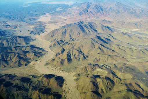 It's In The Air, Desert, Nature, Mountains, High