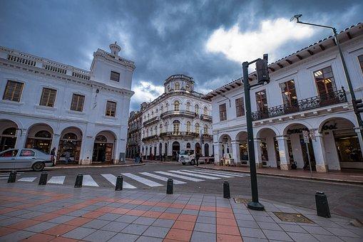 Cathedral, Basin, Ecuador, Architecture, Heritage, Dome