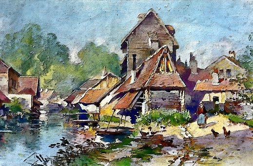 Ein Fischerdorf Village Montela, Lackawack, Eureka