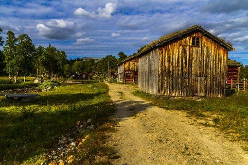 Farm, Landscape, Summer, The Nature Of The, Heaven