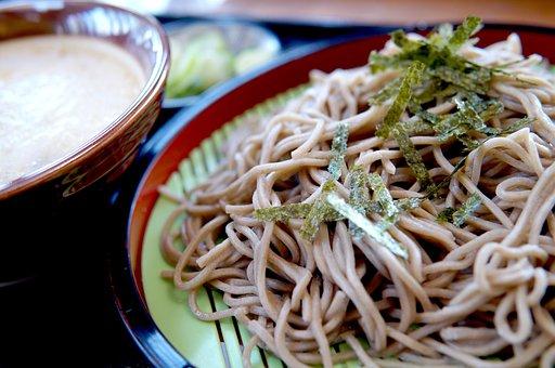 Soba Noodles, Japanese Food, Food, Noodle Dishes