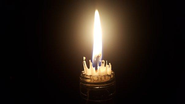 Lights, Night, Dark, Architecture, Candle, Glow
