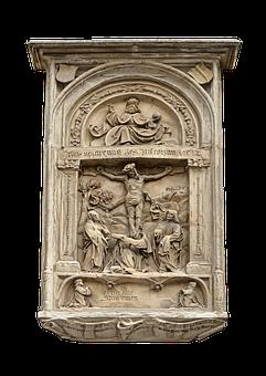 Emboss, The Crucifixion, Christ, God, Faith, Religion