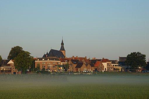Hattingh, Hanseatic City, Fortress, City, Grand, River
