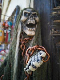 Horror, Mask, Halloween, Scary, Gloomy, Carnival, Bad