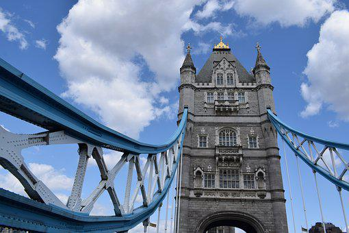 London, Tower, Bridge, Landmark, Travel, Architecture