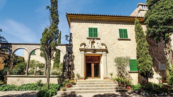 Spain, Mallorca, Monastery, Place Of Pilgrimage