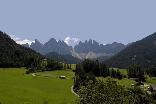 Funes, South Tyrol, Mountains, Landscape, Nature