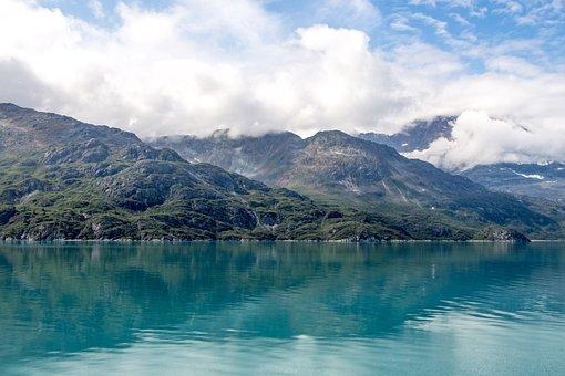 Alaska, Coast, Coastline, Shore, Rocky, Water, Nature