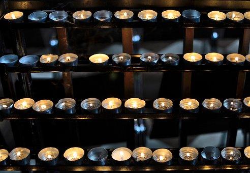 Candles, Kaganki, Prayer, Religion, Faith, Christianity
