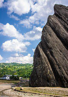 Rock, Mountain, Landscape, Sky, Nature, Stone