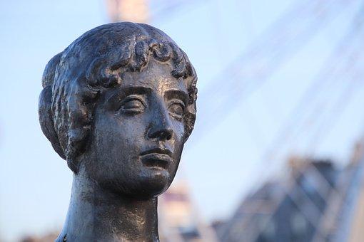 Sculpture, Statue, Bronze, Aristide Maillol