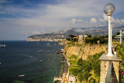 Sorrento, Costa, Sea, Italy, Amalfi, Mediterranean