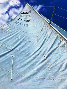 Sail, Sailing Boat, Sky, Ship, Lake Constance, Nautical