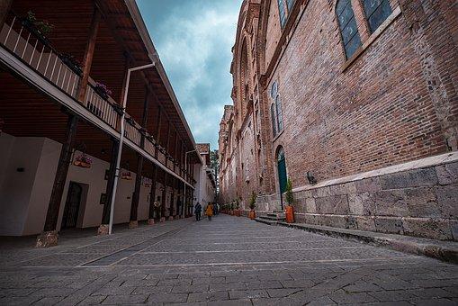 Small Street, Cathedral, Basin, Ecuador, Architecture