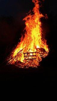 Fire, Fireplace, Burn, Flame, Heat, Hot, Embers, Wood