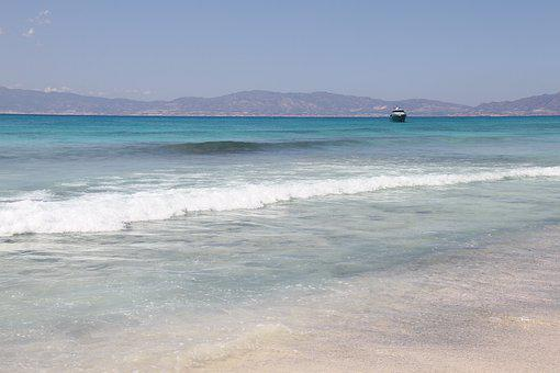 Libyan Sea, Chrissi, Island, Turquoise, Water, Beach