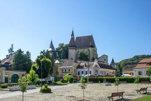 Transylvania, Berethalom, Fortress Church, Tourism