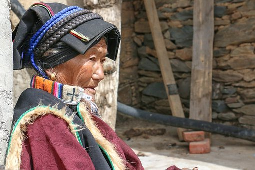 China, Sichuan, Blackwater, Tibetan, The Old Man