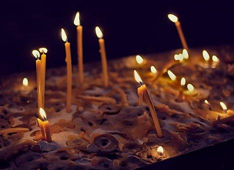 Candles, Light, Faith, Religion, Prayer, The Flame