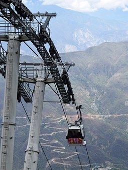 Cable Car, Cannon, Cañon Del Chicamocha, Chicamocha