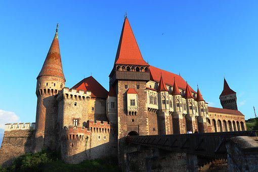 Castle Of The Corvin, Romania, Castle Of Hunedoara