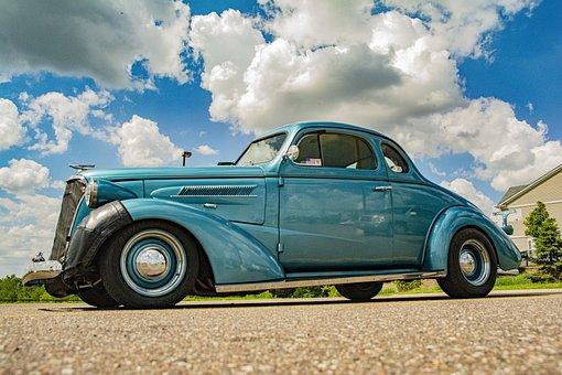 Car, Classic Car, Vintage, Classic, Vehicle, Automotive