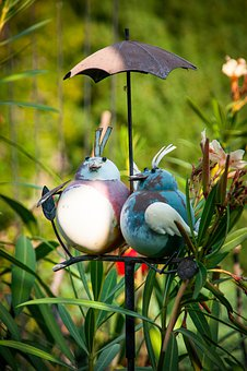 Deco, Birds, Gartendeko, Decoration, Decorative