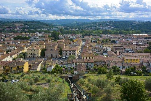 Tuscany, Italy, Never, City, Travel, Tourism