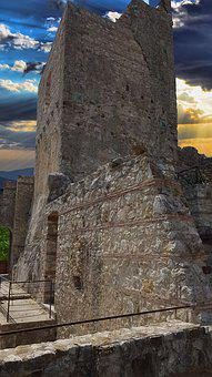 Torre, Castle, Architecture, Construction, Middle Ages
