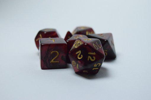 Dice, Cube, Red, Objects, Probability, Random, Numbers
