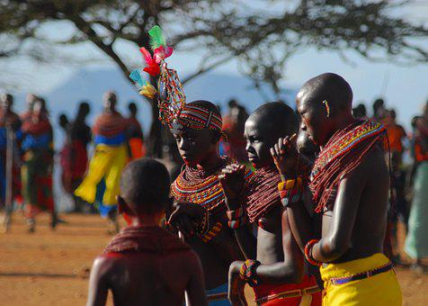 Samburu, Traditional, Ceremony, Kenya, Africa, Wedding