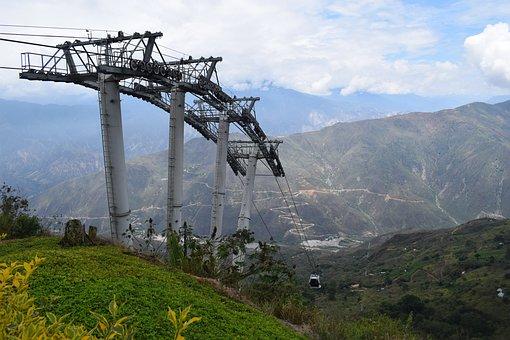 Cañon Del Chicamocha, Santander, Cable Car, Chicamocha