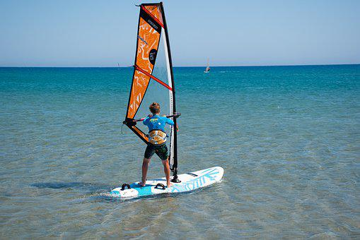 Windsurfing, Fun, Wave, Wind, Sport, Sea, Surfer