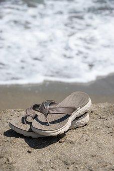Beach, Sandals, Flip Flops, Shoes, Summer, Vacation