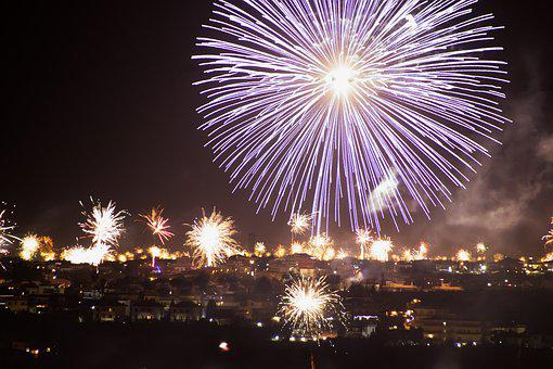 New Year's Eve, Fireworks, Pyrotechnics, Sylvester