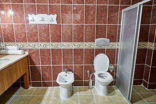 Bathroom, Toilet, Tiles, Ceramic, Tile, Stone, Marble