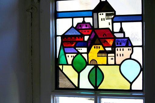 Stained Glass, Window Glass, Castle Windows