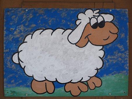 Schäfchen, Sheep, Lamb, Animal, Cute