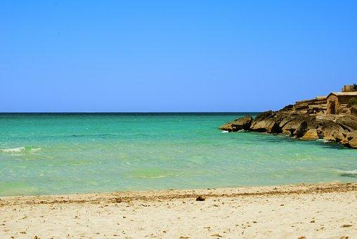 Mallorca, Beach, Blue, Ocean, Sea, Spain, Water