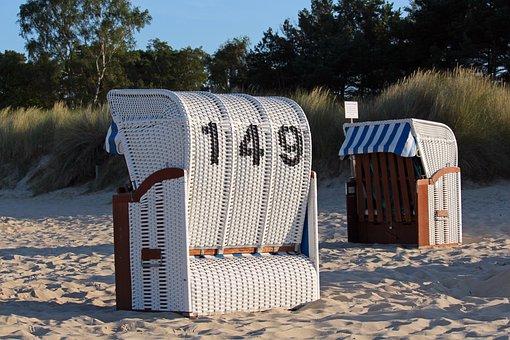 Beach Chair, Beach, Baltic Sea, Vacations, Summer, Sand