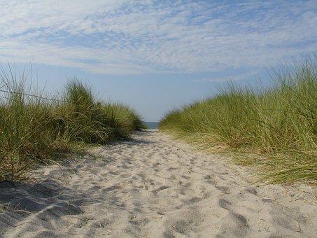 Summer, Sun, Beach, Sea, Sky, Landscape, Travel