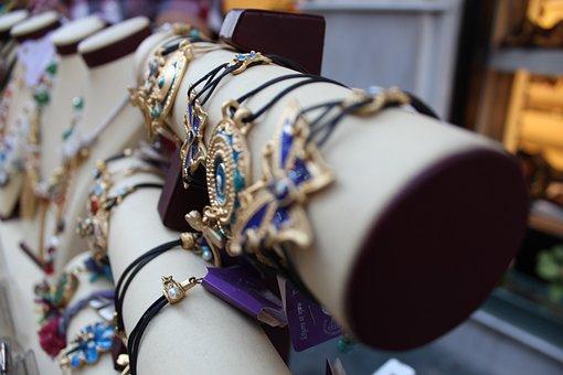 Ornament, Jewelry, Necklace, Bracelet, Woman, Silver
